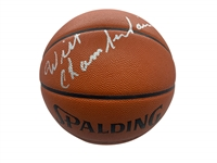 Wilt Chamberlain Near-Mint Signed Official NBA Basketball (JSA)