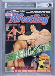 Andre the Giant Signed 1976 Inside Wrestling Magazine Cover (Beckett/BAS Encapsulated)