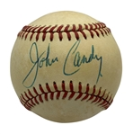Brewsters Millions: John Candy Rare Signed OAL Baseball (Beckett/BAS Guaranteed)
