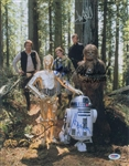 "Star Wars: ""Return of the Jedi"" Beautiful Cast Signed 11"" x 14"" Photo w/Ford, Hamill, Fisher, etc. (PSA/DNA)"