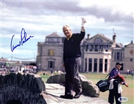 "Arnold Palmer In-Person Signed 11"" x 14"" Color Photo (Beckett/BAS LOA)"