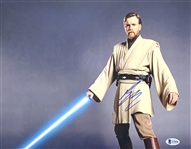 "Star Wars: Ewan McGregor Signed 11"" x 14"" Color Photo as Obi-Wan Kenobi (Beckett/BAS COA)"
