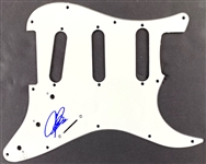 Joe Bonamassa In-Person Signed Stratocaster Style Electric Guitar Pickguard (Beckett/BAS Guaranteed)