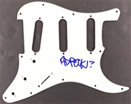 Beastie Boys: Ad Rock In-Person Signed Stratocaster Style Electric Guitar Pickguard (John Brennan Collection)(Beckett/BAS Guaranteed)