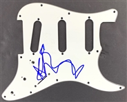 Depeche Mode: Dave Gahan In-Person Signed Stratocaster Style Electric Guitar Pickguard (John Brennan Collection)(Beckett/BAS Guaranteed)