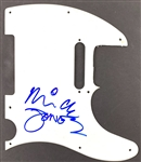 The Clash: Mick Jones In-Person Signed Telecaster Style Electric Guitar Pickguard (John Brennan Collection)(Beckett/BAS Guaranteed)