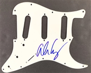 Alice Cooper Signed Stratocaster Style Electric Guitar Pickguard (John Brennan Collection)(Beckett/BAS Guaranteed)