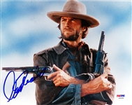 "Clint Eastwood Superb Signed 8"" x 10"" Color Photo from ""The Outlaw Josey Wales"" (PSA/DNA)"