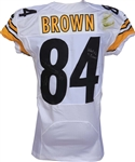 Antonio Brown Signed & Game Used/Worn 2014 Pittsburgh Steelers Jersey vs. Browns! (Photomatch & PSA/DNA)