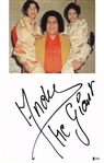 "Andre The Giant Signed 8"" x 12"" Japanese Shikishi Board with HUGE Autograph - The Biggest Weve Ever Seen! (Beckett/BAS)"