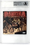 "Pantera Group Signed ""Great Southern Trendkill"" CD Booklet (Beckett/BAS Encapsulated)"