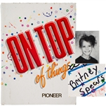 1989 Britney Spears Signed First Grade Yearbook :: The Earliest Known Britney Autograph! (PSA/DNA)