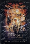 """Episode I: The Phantom Menace"" Incredible Cast Signed 24"" x 36"" Movie Poster with 38 Autographs! (Beckett/BAS Guaranteed)(Steve Grad Collection)"