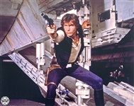 "Harrison Ford Superb Signed 16"" x 20"" Color Photo as ""Han Solo"" (Beckett/BAS Guaranteed)(Steve Grad Collection)"