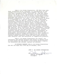 The Start of the DeLorean: John DeLorean Signed Oct 27th, 1975 DMC-12 Document (JSA)