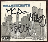 "The Beastie Boys Rare Group Signed ""To The 5 Boroughs"" CD (Beckett/BAS Guaranteed)"