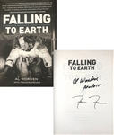 "Apollo 15: Al Worden Signed Hardcover First Edition Book - ""Falling to Earth"" (Beckett/BAS COA)"