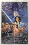 Star Wars: Return of the Jedi Cast Signed Original Style B One Sheet Poster with 38 Autographs! (Beckett/BAS Guaranteed)