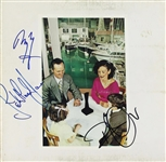 "Led Zeppelin Group Signed ""Presence"" Album with Page, Plant & Jones (PSA/DNA)"