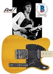 Eric Clapton Desirable Signed Fender Squier Telecaster Guitar (Beckett/BAS & Epperson/REAL LOAs)