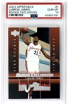 Lebron James 2003 Upper Deck Rookie Exclusives #1 - PSA Graded GEM MINT 10