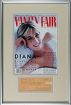 "Princess Diana Incredibly Rare Signed 1980 Receipt with full ""Diana Spencer"" Signature (Only One To Ever Surface!)(PSA/DNA)"
