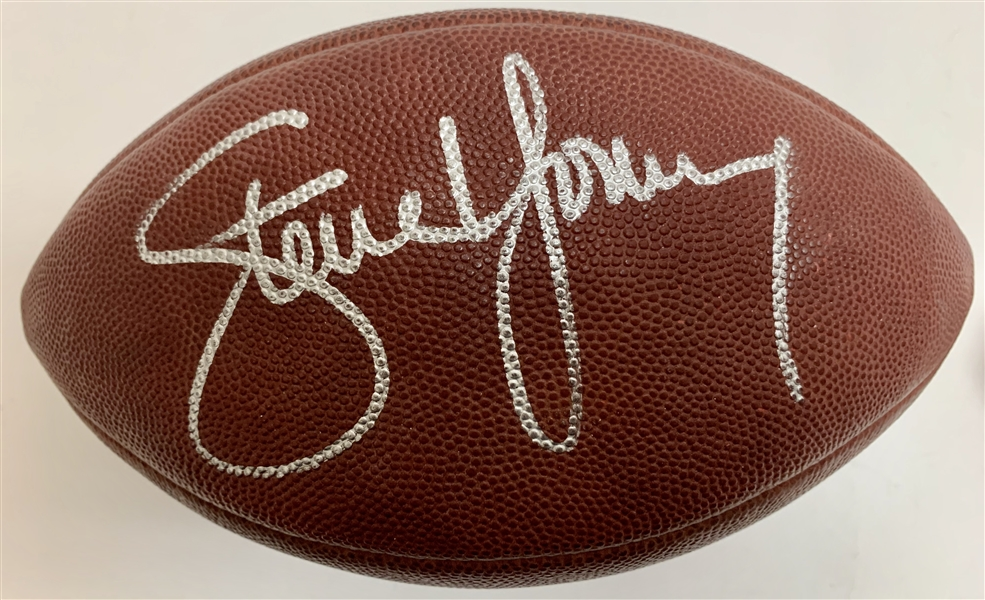 Steve Young Signed & Game Used Week 16 1994 Football During Historic Super Bowl Run! (49ers & JSA)