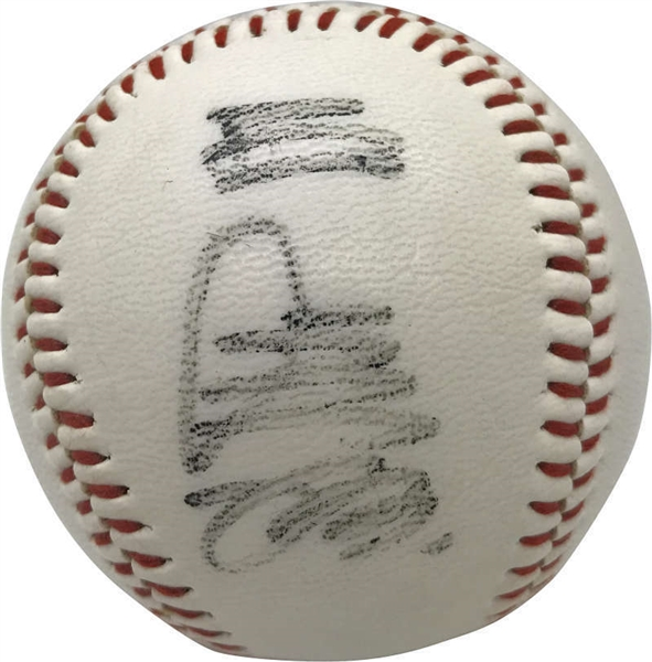 Sadaharu Oh Vintage Playing-Era Signed Yomiuri Giants Baseball (JSA)
