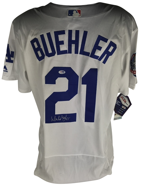Walker Buehler Signed Los Angeles Dodgers Jersey (PSA/DNA)