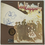"Led Zeppelin Group Signed ""Led Zeppelin II"" Record Album with Page, Plant & Jones (Beckett/BAS)"