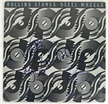 "The Rolling Stones Group Signed ""Steel Wheels"" Album w/ All Five Members! (JSA)"