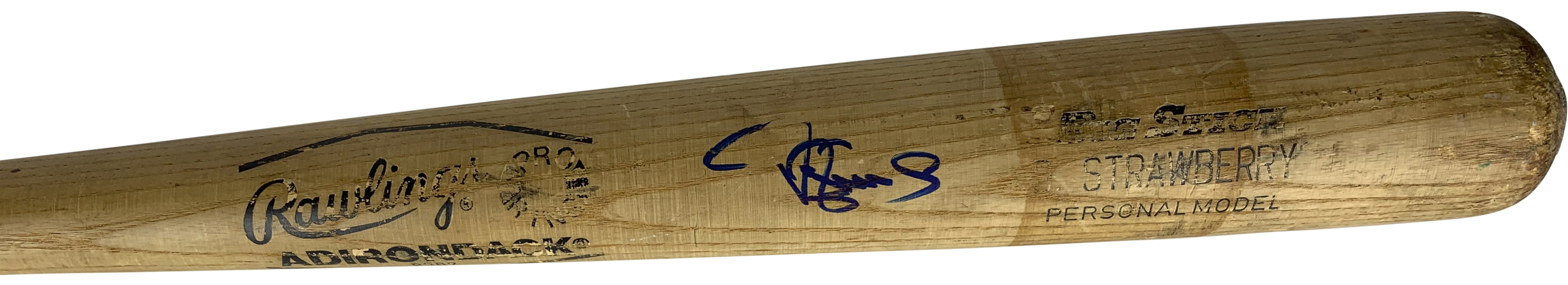 Darryl Strawberry Signed & Game Used 1984 Mets 113A Baseball Bat (PSA/DNA)