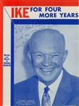Irving Berlin Rare Signed 1956 Dwight Eisenhower Presidential Campaign Sheet Music Cover (Becket/BAS Guaranteed)