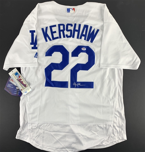 Clayton Kershaw Signed Los Angeles Dodger Home Style Jersey (PSA/DNA)
