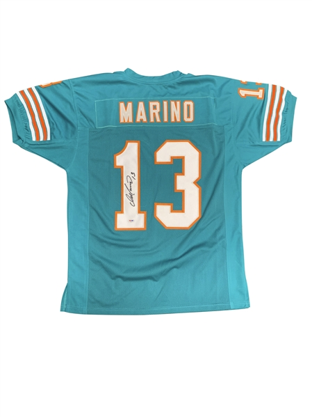 Dan Marino Signed Dolphins Jersey (PSA/DNA)