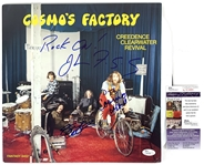 "Creedence Clearwater Revival Rare Band Signed ""Cosmos Factory"" Record Album (JSA COA)"