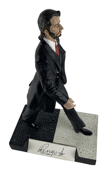 The Beatles: Ringo Starr Rare Signed Joe Hoffman Abbey Road Gartlan Limited Edition Statue (JSA)