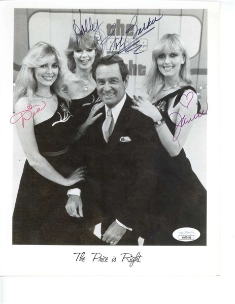 The Price is Right Vintage Cast Signed 8 x 10 Photograph (JSA)