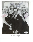 "The Price is Right Vintage Cast Signed 8"" x 10"" Photograph (JSA)"