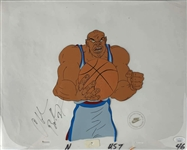 "Charles Barkley Signed Original NIKE Dream Team Commercial Used 12"" x 17"" Animation Cel (JSA)"