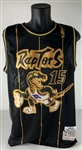 "Vince Carter Rare Signed & ""ROY 99"" Inscribed 1998-99 Toronto Raptors Mitchell & Ness Jersey (Beckett/BAS)"
