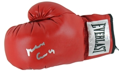 "Muhammad Ali Rare Signed Everlast Boxing Glove with ""Muhammad Ali, Cassius Clay"" Dual Autograph (PSA/DNA)"