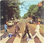 "The Beatles: ""Abbey Road"" Album Flat Signed by George Harrison, Paul McCartney & Ringo Starr (BAS/Beckett, JSA, & Caiazzo)"