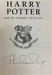 "J.K. Rowling Signed ""Harry Potter & The Chamber of Secrets"" UK Edition Hardcover Book (JSA)"
