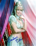 "Barbara Eden Lot of Two (2) Signed 8"" x 10"" Color Photos with EXACT Photo Proof! (Beckett/BAS Guaranteed)"
