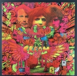 "Cream Group Signed Lot of Two (2) ""Disraeli Gears"" Albums w/ Clapton, Baker & Bruce (Beckett/BAS Guaranteed)"