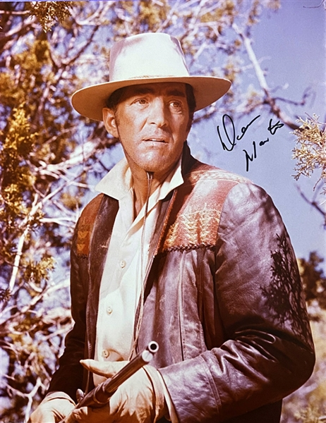 Dean Martin In-Person Signed 11 x 14 Color Photo (Beckett/BAS Guaranteed)