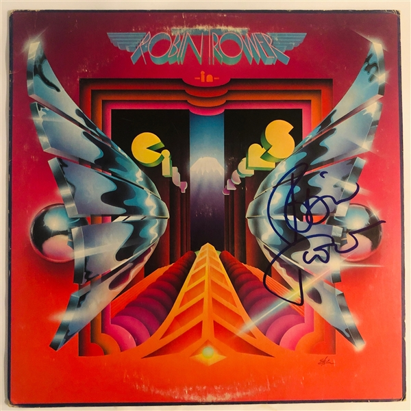 Robin Trower In-Person Signed In City Dreams Record Album Cover (John Brennan Collection)(Beckett/BAS Guaranteed)