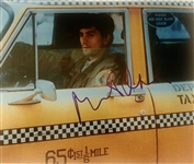 "Robert De Niro In-Person Signed 11"" x 14"" Color Photo from ""Taxi Driver"" (John Brennan Collection)(Beckett/BAS Guaranteed)"