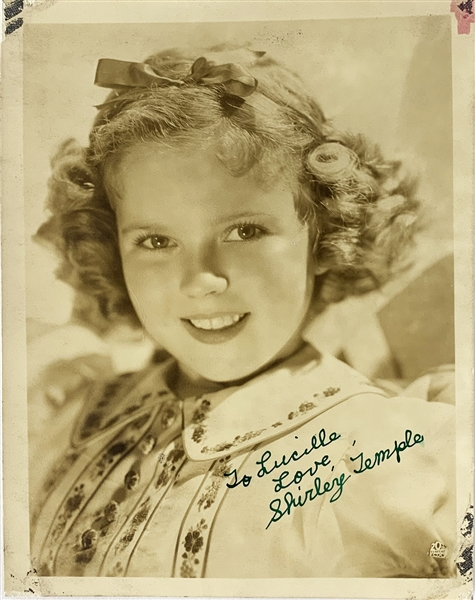 Shirley Temple Signed Vintage 5.5 x 7 Photo with Childhood Autograph! (Beckett/BAS Guaranteed)